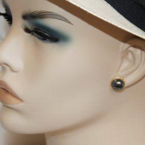 Peter Brams Designs 14 kt Gold Hematite Earrings